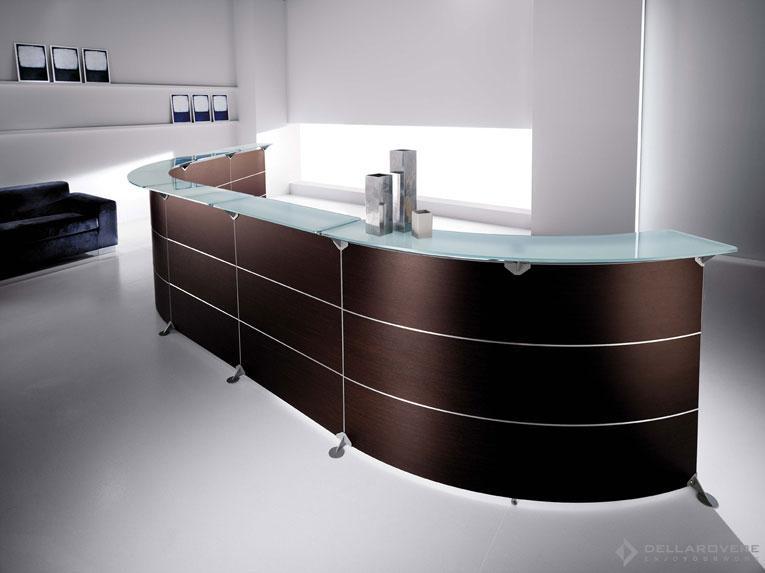 RECEPTIONS - Della Rovere - Frezza mobili per ufficio a roma - agfsrl Mobili per ufficio a Roma – AGFSRL 01 Serie Edison 1